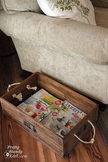 How To Incorporate Wood Crates Into Decor Ideas
