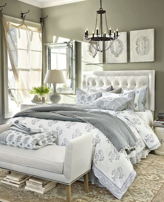 35 Spectacular Neutral Bedroom Schemes For Relaxation: How To Make Your Bedroom Relaxing: 7 Ideas And 28 Examples