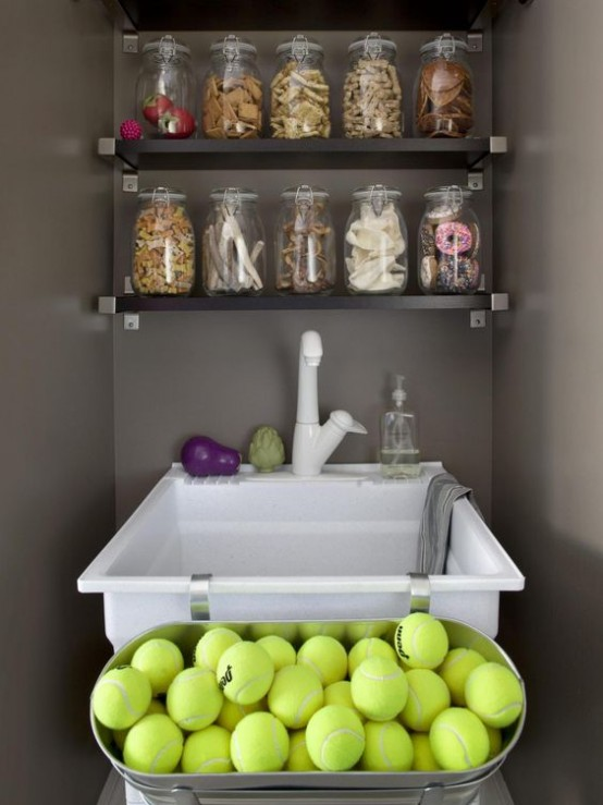 How To Organize All Your Pet Supplies Comfortably: 17 Ideas