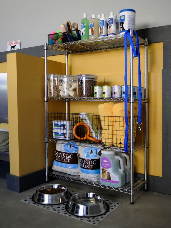 Picture Of how to organize all your pet supplies comfortably ideas  7