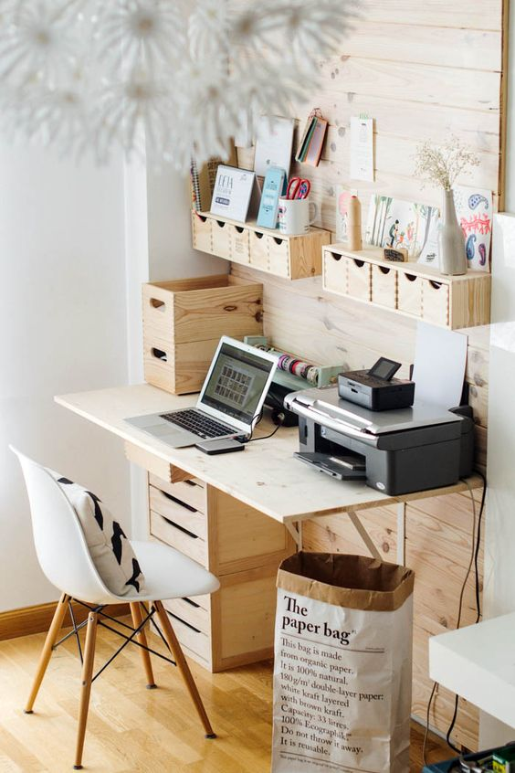 Picture of how to organize your home office smart ideas 16 Home office organization ideas
