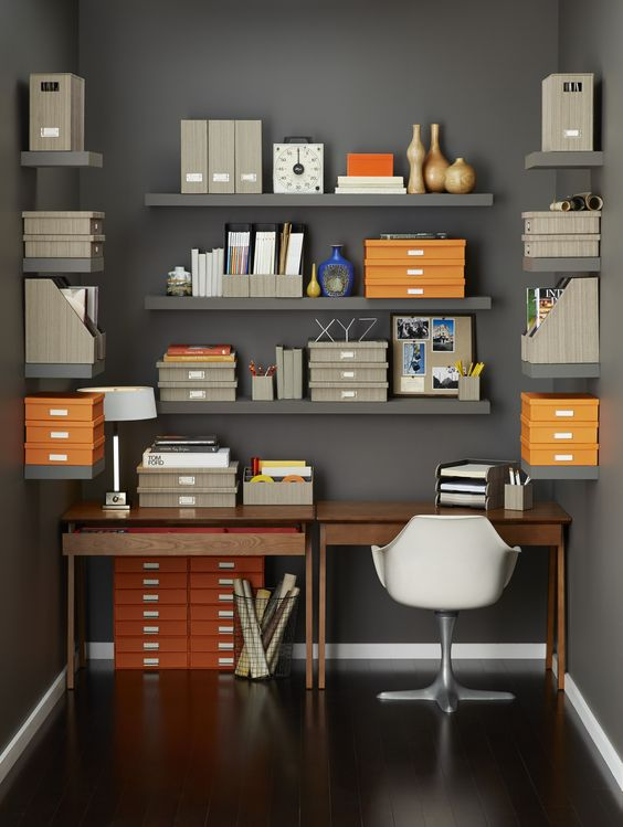 Picture Of how to organize your home office smart ideas  24