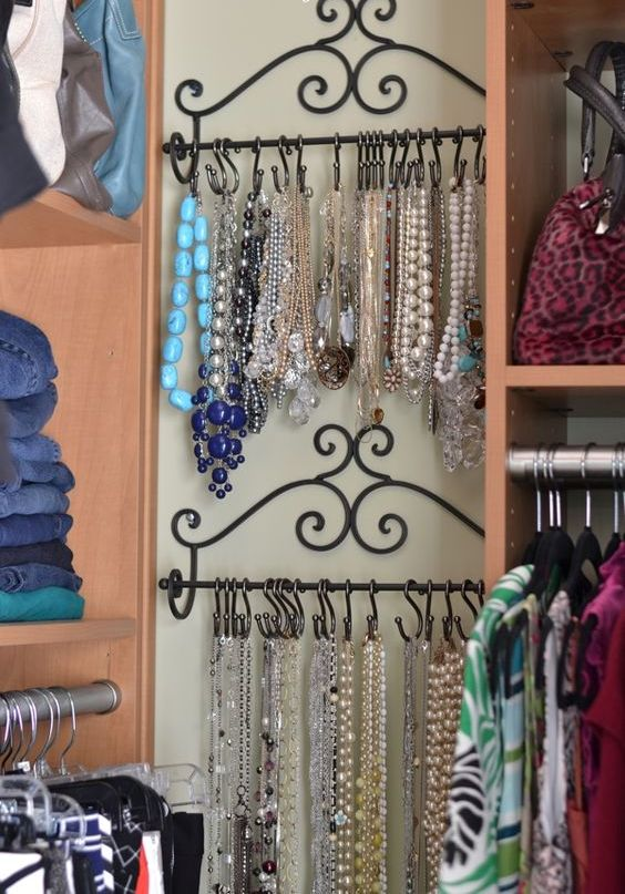 Picture Of how to organize your jewelry in a comfy way ideas  10