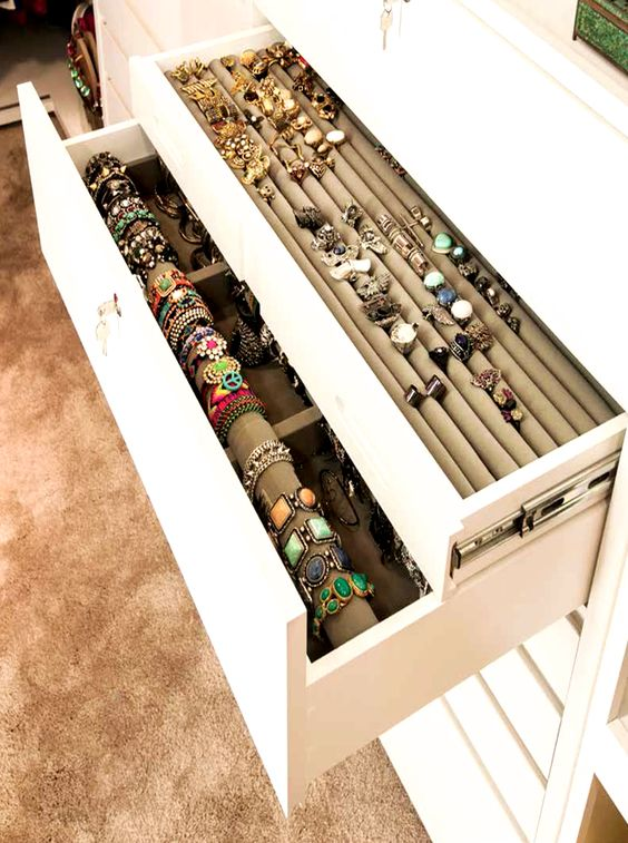 Picture Of how to organize your jewelry in a comfy way ideas  13