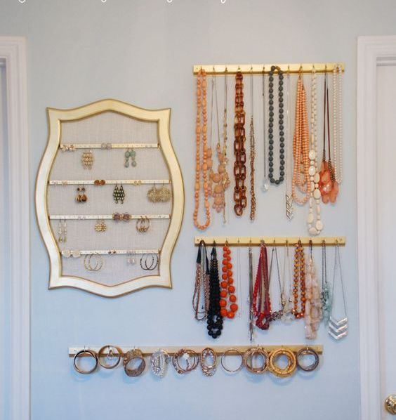 Picture Of how to organize your jewelry in a comfy way ideas  20