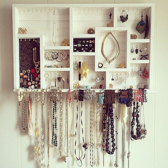 Picture Of how to organize your jewelry in a comfy way ideas  24