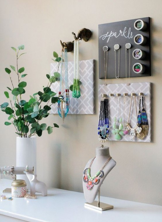 How To Organize Your Jewelry In A Comfy Way: 40 Ideas