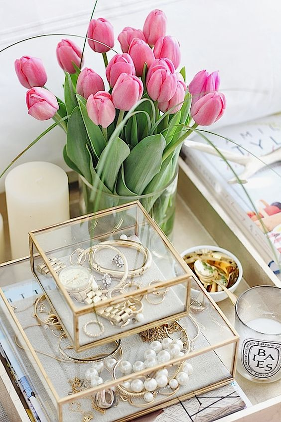 Picture Of how to organize your jewelry in a comfy way ideas  30
