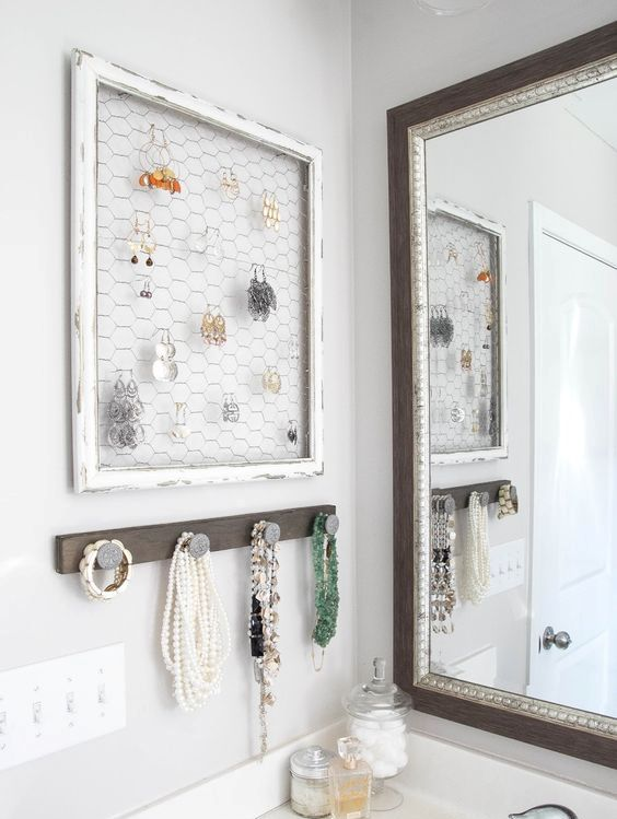 Picture Of how to organize your jewelry in a comfy way ideas  32