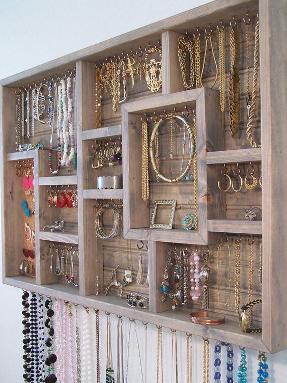 Picture Of how to organize your jewelry in a comfy way ideas  5