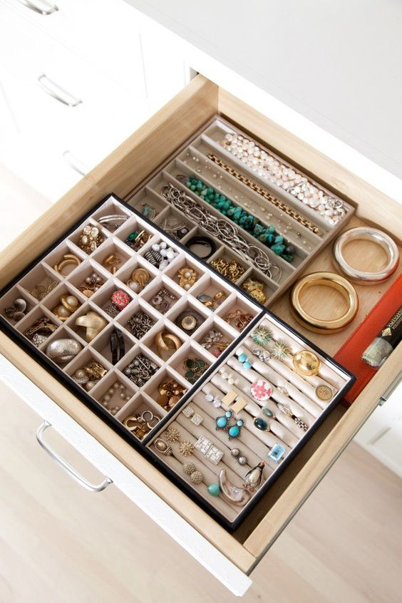 Picture Of how to organize your jewelry in a comfy way ideas  6
