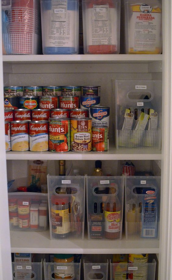 Picture Of how to organize your pantry easy and smart ideas  11