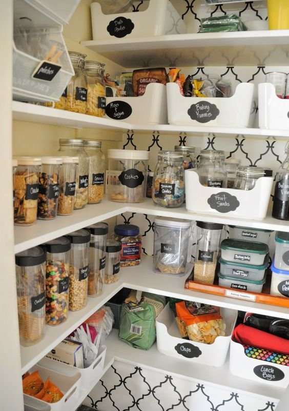 Picture Of how to organize your pantry easy and smart ideas  20