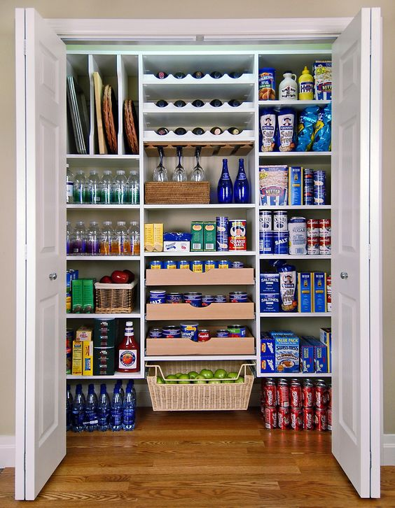 Picture Of how to organize your pantry easy and smart ideas  24