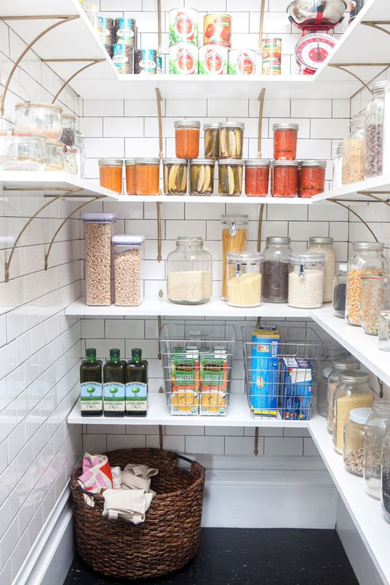 Picture Of how to organize your pantry easy and smart ideas  25