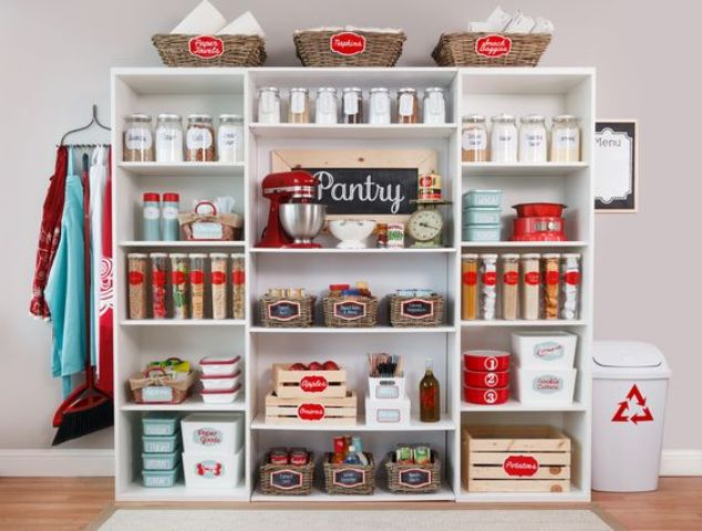 Picture Of how to organize your pantry easy and smart ideas  30