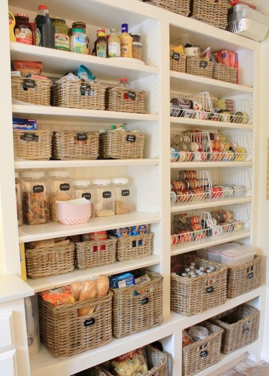 how to organise kitchen storage how to organize your pantry 35 easy and smart ideas 7293
