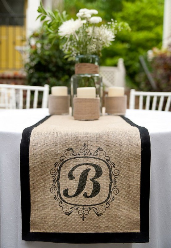 how to rock burlap in home décor: 27 ideas - digsdigs