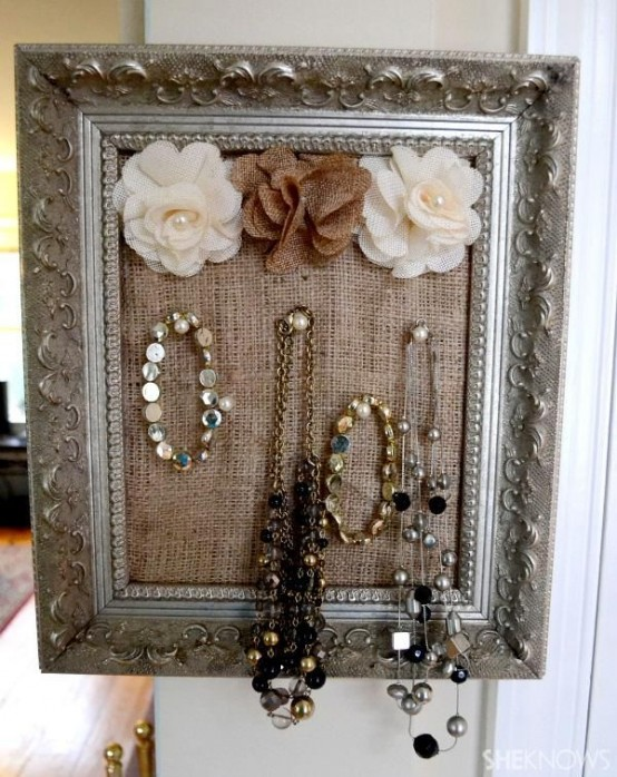 How To Rock Burlap In Home Decor Ideas Digsdigs
