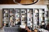 an ikea home library design