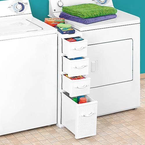 How To Smartly Organize Your Laundry Space: 37 Ideas