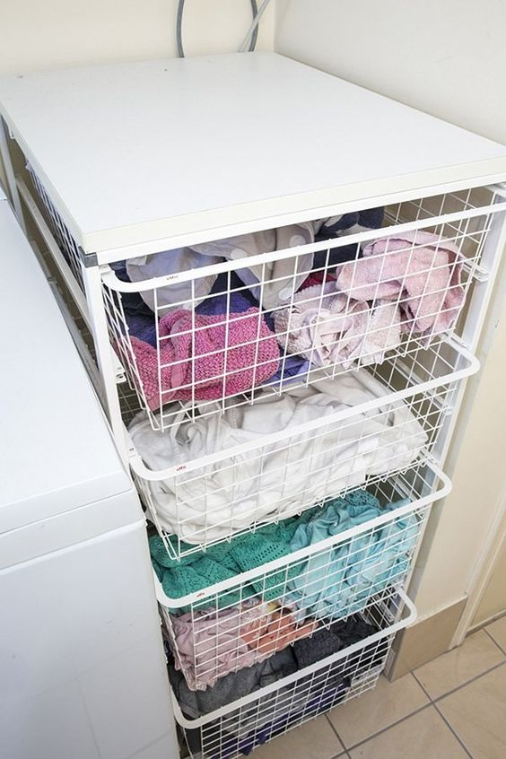 Picture Of how to smartly organize your laundry space  18
