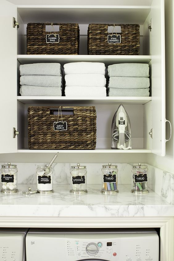 Picture Of how to smartly organize your laundry space  22
