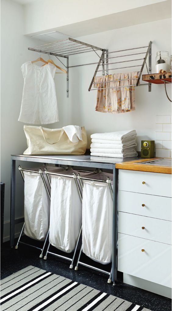 Picture Of how to smartly organize your laundry space  28