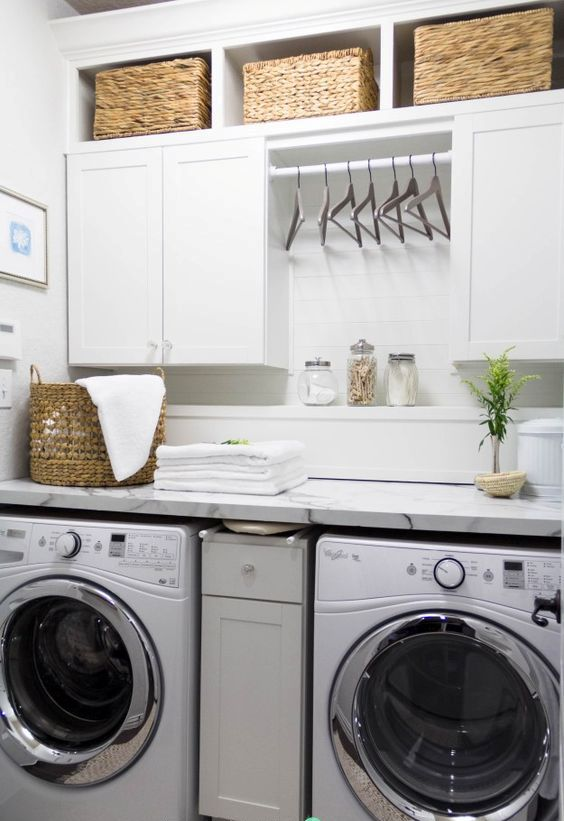 Picture Of how to smartly organize your laundry space  34