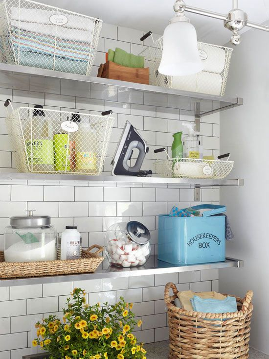 Picture Of how to smartly organize your laundry space  37