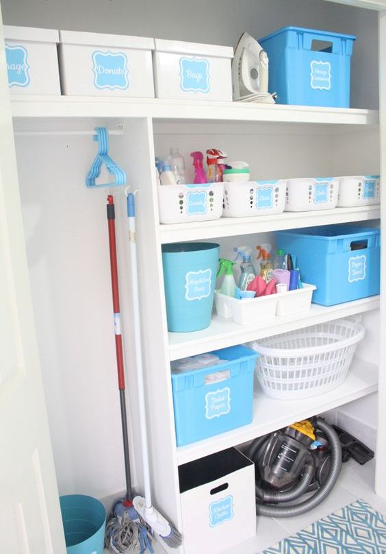 Picture Of how to smartly organize your laundry space  39