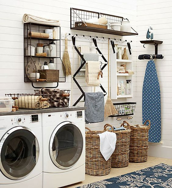 Picture Of how to smartly organize your laundry space  5
