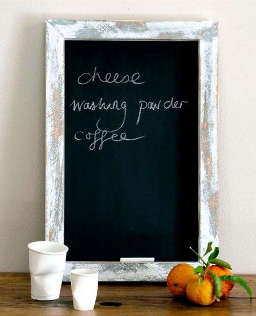 How To Use Chalkboard Pieces For Home Décor: 35 Cool Ideas ...