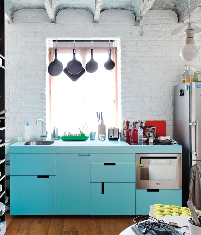 How To Use Color And Textures In Small Spaces: 24 Ideas