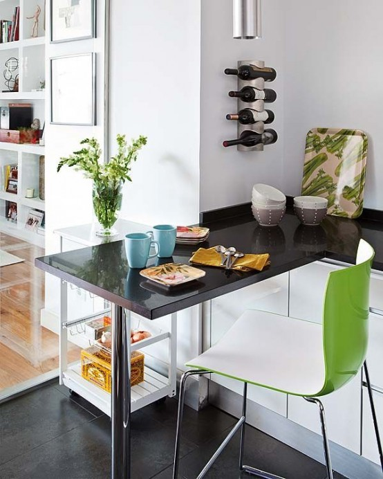How to use color and textures in small spaces 24 ideas digsdigs - Dwell small spaces image ...