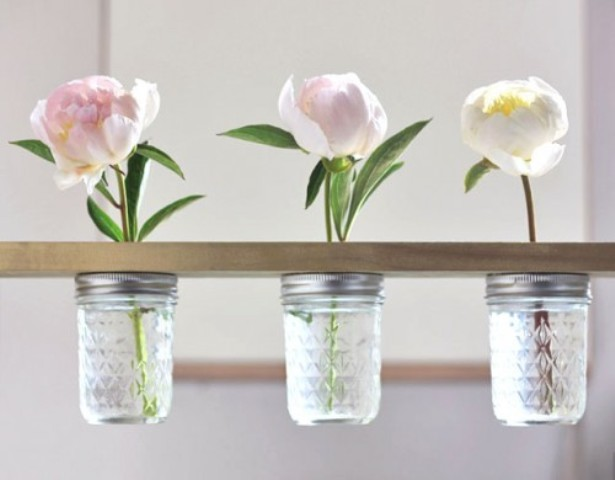 How To Use Mason Jars In Home Decor