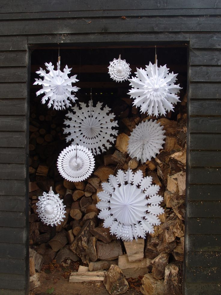 Pictures Decorating Ideas Living Room: How To Use Snowflakes In Winter Décor: 36 Ideas