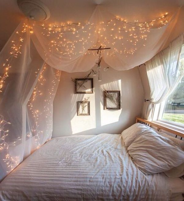 light decoration for bedroom how to use string lights for your bedroom 32 ideas digsdigs 15826