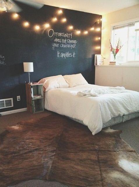 String Lights For Bedroom : How To Use String Lights For Your Bedroom: 32 Ideas  HomiePop.com