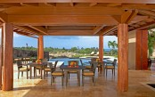Hualalai Luxury Home Design Outdoor Dining Place