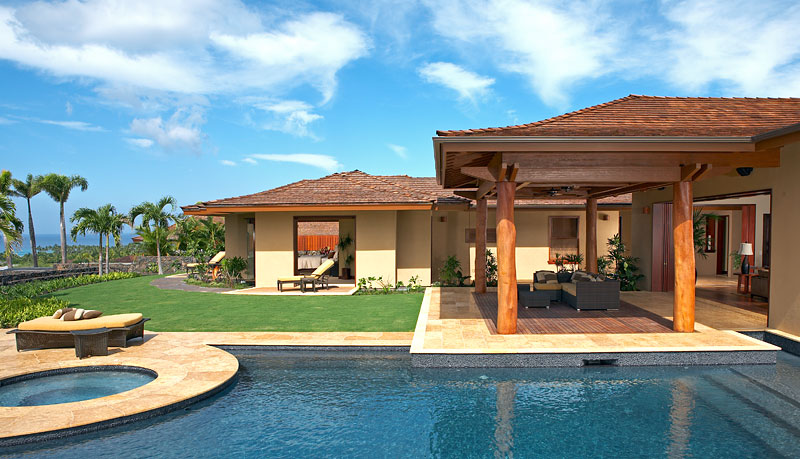 Luxury Dream Home Design at Hualalai by Ownby Design - DigsDigs