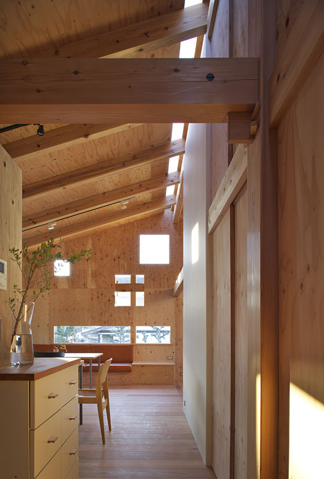 Hut In Woods In Modern Japanese Interpretation