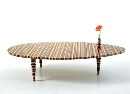 Modern Furniture In The Rainbow Colors
