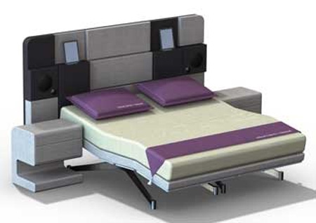 Luxury Bed with Apple's iPad Support – iCon Bed