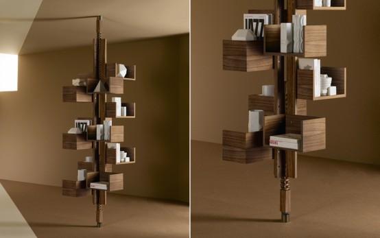 Iconic 1950s Albero Bookcase For Modern Interiors