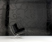 Iconic Decorative Panels Black