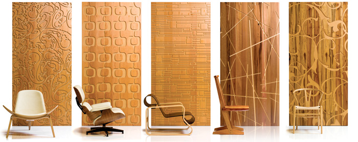 Iconic Decorative Panels DigsDigs