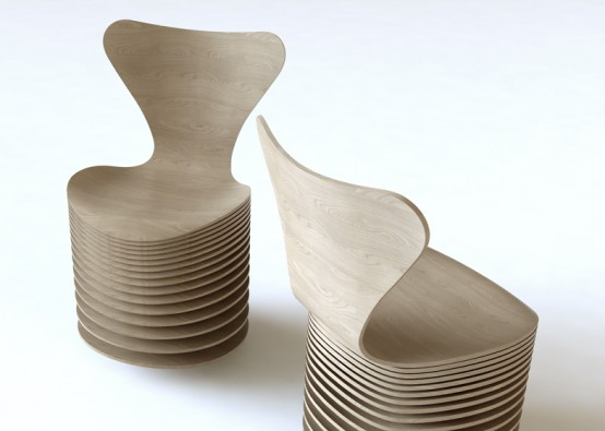 Iconic Series 7 Chair Re-Edition By Famous Architects