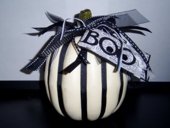 Ideas For Elegant Black And White Halloween
