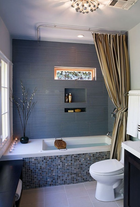 ideas to give your bathtub a new look with creative siding - Bathroom Tub Ideas